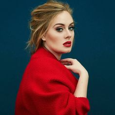 Adele com look vermelho. VISIT FOR MORE Adele com look vermelho. The post Adele com look vermelho. appeared first on Celebrities. Time Magazine, Magazine Covers, Pretty People, Beautiful People, Beautiful Voice, Beautiful Images, Divas, Adele Adkins, Portrait Photos