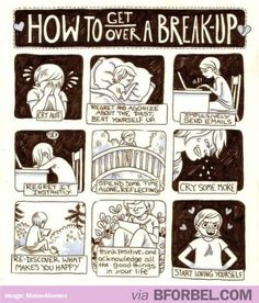 How To Get Over A Break-Up… I prefer to skip the first few frames