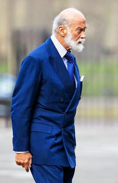 Prince Michael of Kent attends a service of thanksgiving for the life of John Spencer-Churchill, 11th Duke of Marlborough at The Guards Chapel, Wellington Barracks on 04.02.2015 in London, England