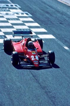 René Arnoux ~ Scuderia Ferrari Spa SEFAC ~ 1983 French Grand Prix at Paul Ricard