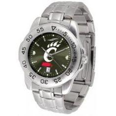 Cincinnati Bearcats Sport Steel Watch - AnoChrome Dial