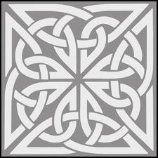 Click to see the actual CE24 - Tile No 1 stencil design.
