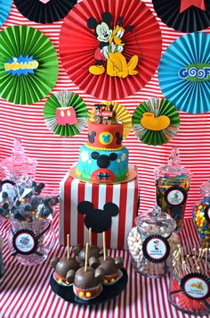 Mickey Mouse Clubhouse Birthday Party Ideas | Photo 9 of 36 | Catch My Party