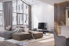 Italian apartment on Behance