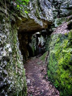 6. Stone Cuts Trail in Huntsville, AL --- unique and thought-provoking rock formations throughout