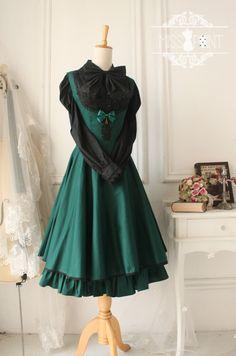 ●原创设计●凡尔赛玫瑰—复古风托胸连衣裙古典优雅背心裙●-淘宝网