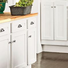 Creative Kitchen Cabinet Ideas: Secondhand Cabinets