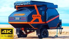 Top 5 New Off-Road Camper Trailer for Off-Grid Trips Used Camping Trailers, Small Camper Trailers, Off Road Camper Trailer, Best Trailers, Small Campers, Cool Campers, Custom Campers, Off Road Camping, Truck Camping