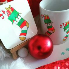 Getting into the festive spirit :-) I love festive home decor. Mugs are great for hot chocolate or even a mulled wine. Mmmm :-)