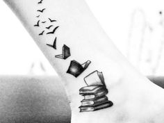 30 Tatuajes Para Los Amantes de los Libros. Te Harías Uno? - Taringa!