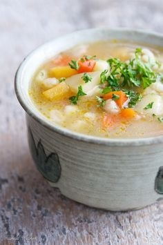 Irish Vegan Farmhouse Soup. This is a simple down to earth soup, filled with wholesome good vegetables and flavor.