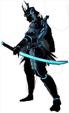 Arte Ninja, Ninja Art, Robot Concept Art, Armor Concept, Fantasy Character Design, Character Art, Susanoo, Samurai Artwork, New Retro Wave