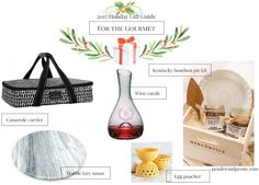 Holiday Gift Guide For the Gourmet