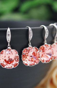 Bridesmaid earrings