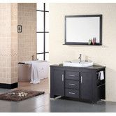"Found it at Wayfair - Design Element Washington 48"" Single Sink Vanity Set"