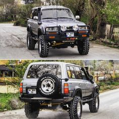 Toyota Pickup 4x4, Toyota 4, Toyota Trucks, Land Cruiser 80, Toyota Land Cruiser, 100 Series Landcruiser, Custom Tacoma, Carros Toyota, Four Wheel Drive