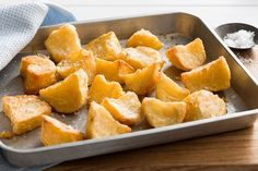 They are called the best roast potatoes for good reason. This is a FODMAP friendly recipe for a Low FODMAP diet.  Recipe by Tracy Rutherford from Super Food Ideas.
