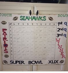 Free Printable Football Squares Grid  Visit Our Store To Get Your
