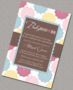 Girl Baby Shower Invites Digital File https://www.etsy.com/listing/100263035/digital-baby-shower-invitations-for-a