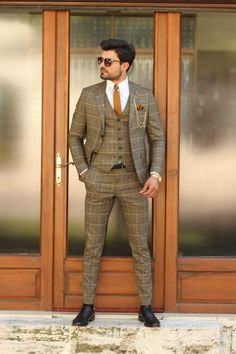 Available Size : material : viscose , polyester , elestan Machine washable : No Fitting : slim-fit Cutting : double button, double slitsRemarks : Dry Cleaner Mens Casual Suits, Dapper Suits, Mens Fashion Suits, Mens Suits, Formal Suits For Men, Suits Women, Groom Suits, Groom Attire, Mens Tweed Suit