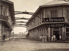 La Opinion Manila - History of the Philippines - Wikipedia - philippines holiday Les Philippines, Philippines Culture, Vintage Pictures, Old Pictures, Old Photos, Manila, Philippine Architecture, Philippine Holidays, Nostalgia