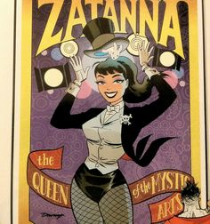 The great Darwyn Cooke puts together a great Zatanna graphic for last month's issue of Bizarro.