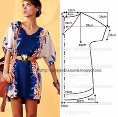 Discover thousands of images about sewing summer dresses. Dress patterns- So Sew Easy. Sewing Summer Dresses, Diy Summer Clothes, Trendy Dresses, Simple Dresses, Nice Dresses, Summer Outfits, Diy Clothes, New Dress Pattern, Simple Dress Pattern