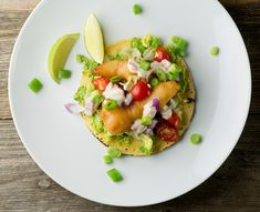 These light and easy fried fish tacos are just the ticket for a delicious and festive supper!