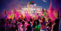 The 2015 Cape Town We Are One Colour Festival returns to the Mother City's Grand Parade on Saturday, 14 March 2015 for a day-night jol like no other. Formerly the Holi One Colour Festival, the celebration will feature a heady line-up of jamming acts! Festival Berlin, Air Festival, Holiday Festival, Dresden, Festivals, Holi Party, Holi Festival Of Colours, Lets Run Away, Open Air
