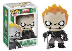 Funko POP! Ghost Rider #18 Marvel Universe Bobble Head Retired Rare Figure