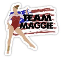 Team Maggie Nichols - USA (Olympic) Sticker Maggie Nichols, Usa Olympics, Female Gymnast, Sticker Design, Women's Gymnastics, Stickers, Appreciation, Rock, Board