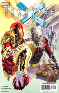 Paradise X vol 1 #9 | Cover art by Alex Ross