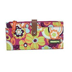 Wallet made from recycled bottles. Love Lily Bloom!