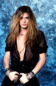 Sebastian Bach..EYELINER!...IS ALL I HAVE TO SAY!