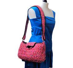Unique Handbag, Shoulder Bag, Overnight Bag | I Crochet World