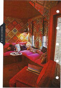 incredible wallpaper/curtains