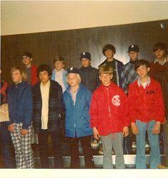 Getting ready to leave Adak for Anchorage to play baseball.  Back row L-R: Bill Gerdeman, Leonard Stiles, Randy Brewer, Me, Greg Swadener, Wes Haire  Front Row L-R: Britt Brown, ?, John Conway, Greg Watters, Pat Sutterfield   Ankara Adak http://adaklikkoyunfiyatlari.com
