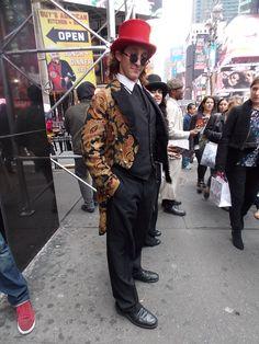 Streetstyle in New York • Vintage Style • Photo: Alina Spiegel