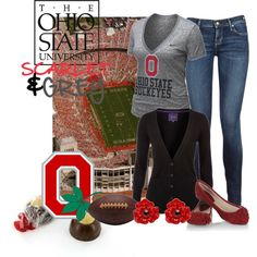 The Ohio State Buckeyes, created by missa84 on Polyvore