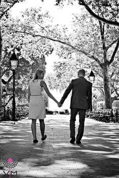 Engagement. Washington Square Park. New York