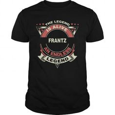 FRANTZ name tee shirts
