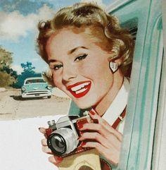 cámara de fotos.