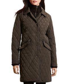 Lauren Ralph Lauren Double Collar Quilted Jacket