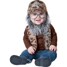 Infant Duck Dynasty Uncle Si Baby Costume by Incharacter Costumes LLC 101602