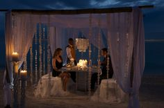Private dinner on the beach | Sandals Resorts | Jamaica