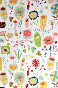 彼岸花。IPhone壁纸,碎花,平铺。