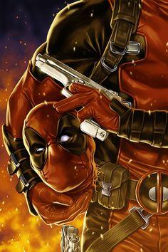 #Deadpool #Fan #Art. (Deadpool Vol.4#25 Variant Cover) By: Mark Brooks. ÅWESOMENESS!!!™ ÅÅÅ+