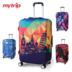 Black Panther suitcase cover elastic suitcase cover zipper luggage case removable cleaning suitable for 29-32 trunk cover