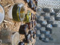 Michael Reynolds' Earthships turn junk into building materials