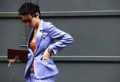 Esther Quek, the fashion director at classic menswear magazine The Rake.